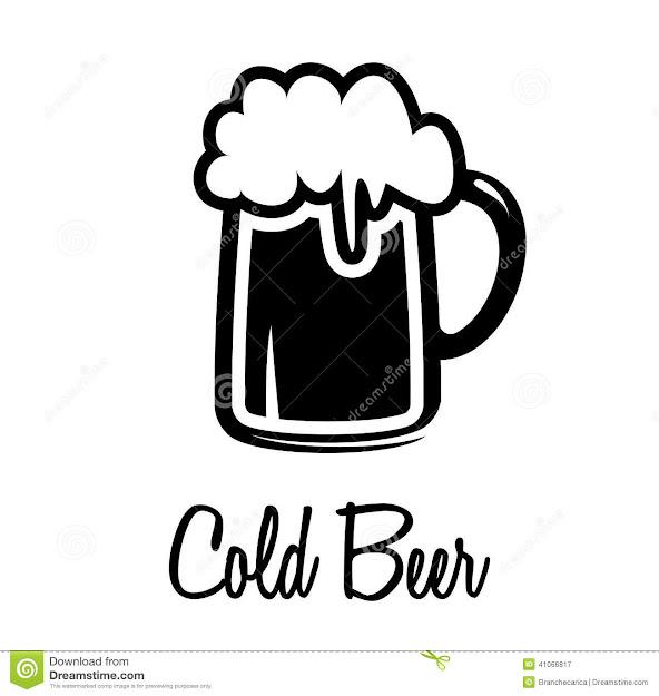 Beer Mug Icon Stock Vector  Image