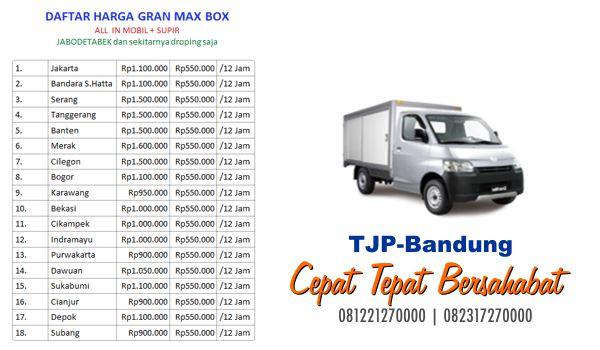 Sewa rental truk box Bandung