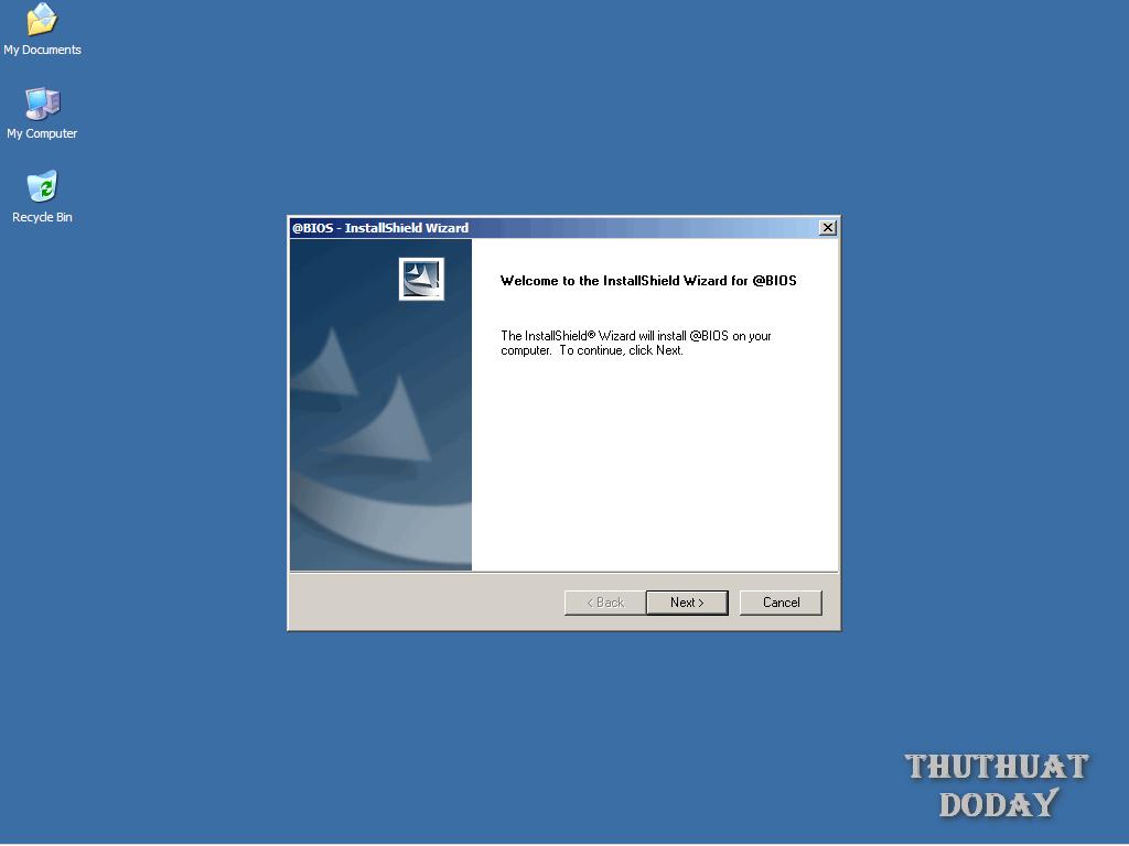 Làm sao để nạp BIOS cho mainboard GIGABYTE? - Thủ thuật đó đây