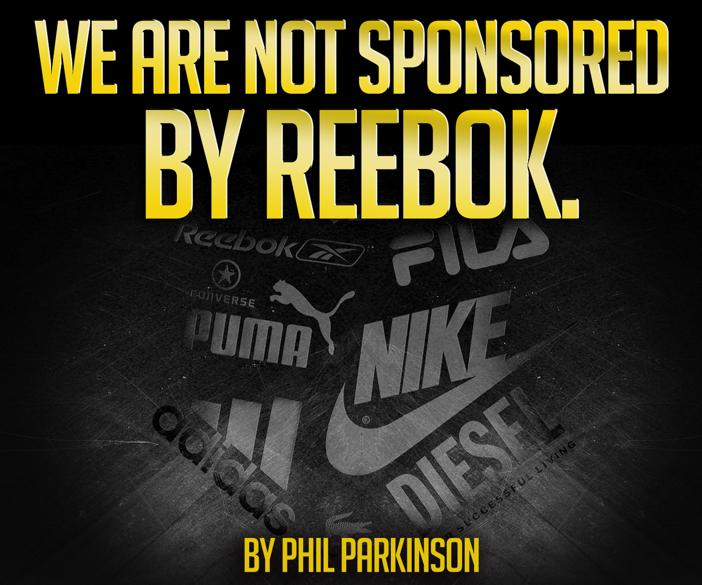 Beneficiario Culpable Dato  The Ultimate Fitness Blog: We are not sponsored by Reebok