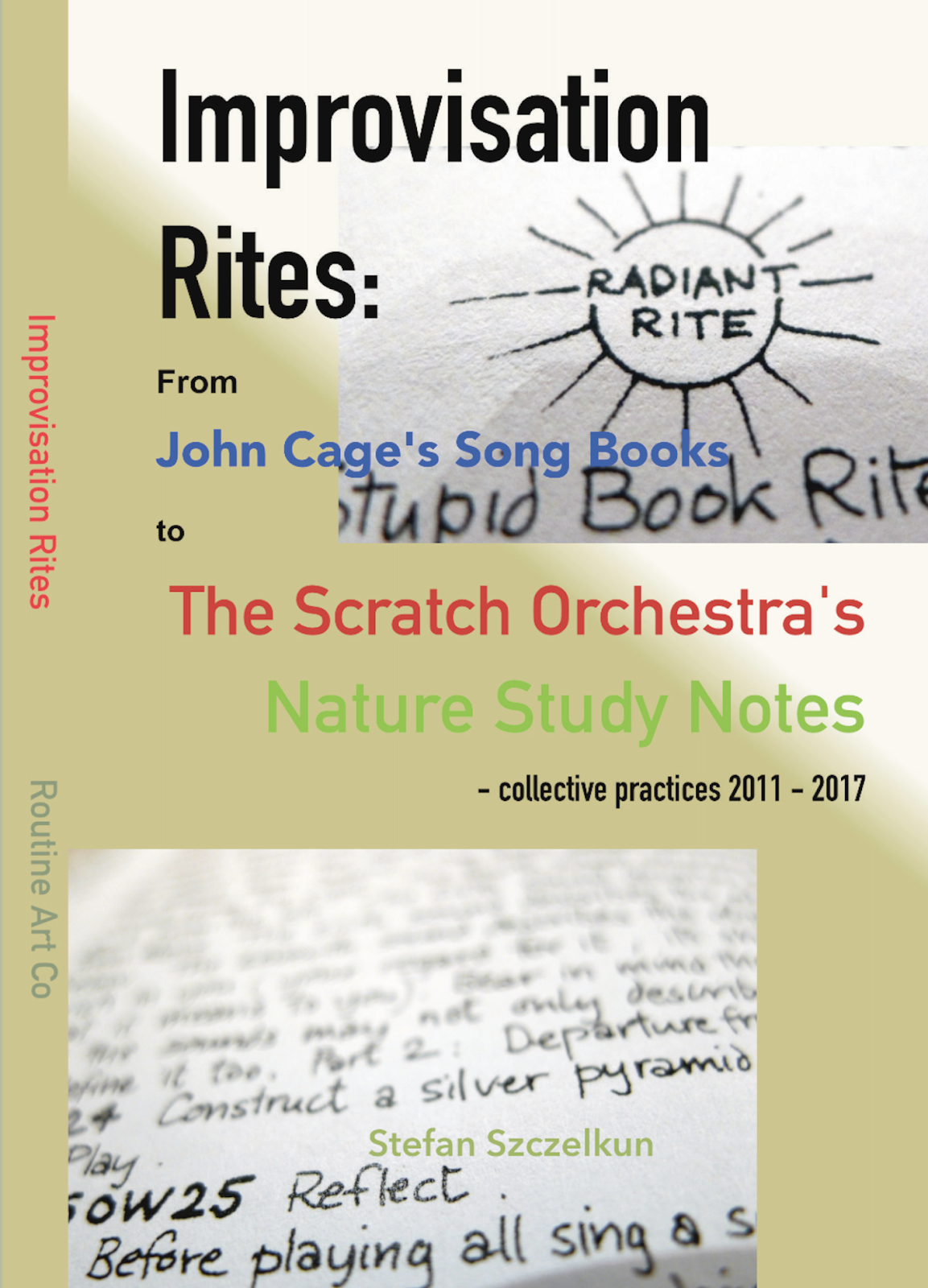 The emancipated spectator by jacques rancire draft writings by improvisation rites from john cages song books to the scratch orchestras nature study notes collective practices 2011 2017 fandeluxe Gallery