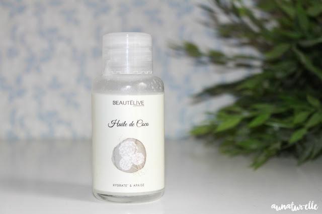 huile de coco naturelle et pure pour les cheveux
