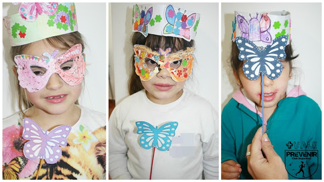 coronas antifaces varitas magicas manualidades niños