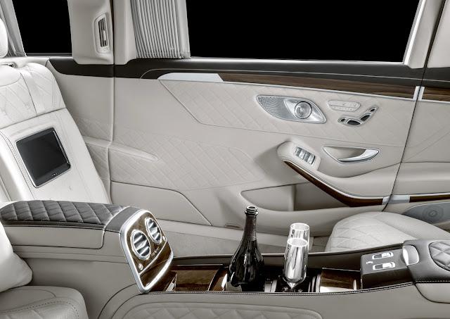VIP向けの超高級リムジン「メルセデス・マイバッハ・プルマン」の大幅改良モデルが公開!