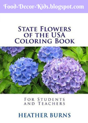 State Flower Coloring Books