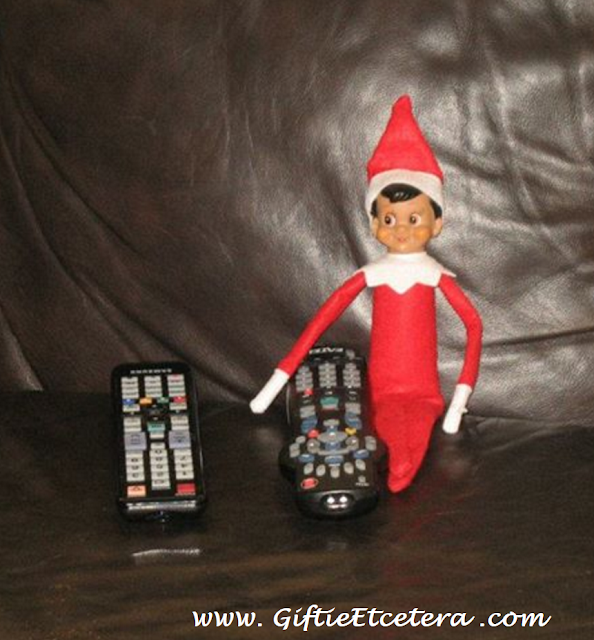 Elf on the Shelf Ideas, remote control