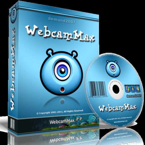 Download WebCamMax v8.0.6.2 full crack - tạo hiệu ứng tuyệt đẹp cho webcam