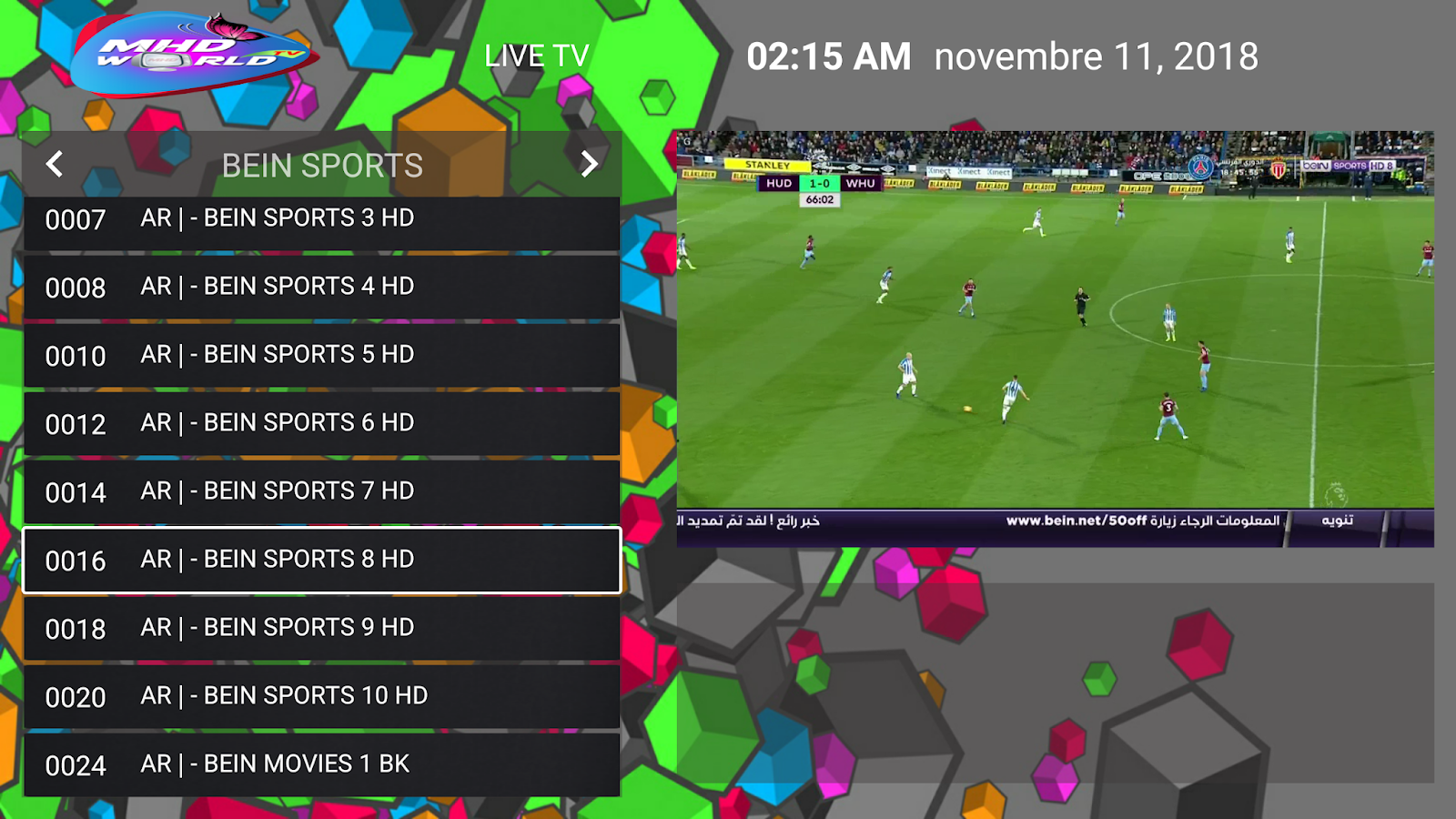 best apk for live tv and sports