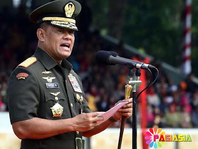 Panglima Melaporkan Serapan Anggaran TNI Semuanya Hampir 100% Di Depan Jokowi