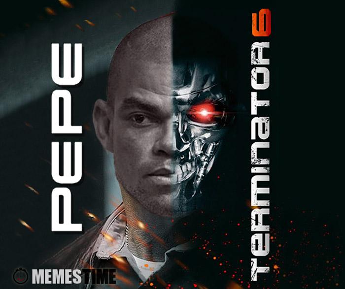 Meme  Pepe Terminator 6