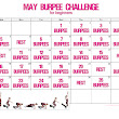 Squats, Abs, and Burpees - oh my! May is Full of Challenges!