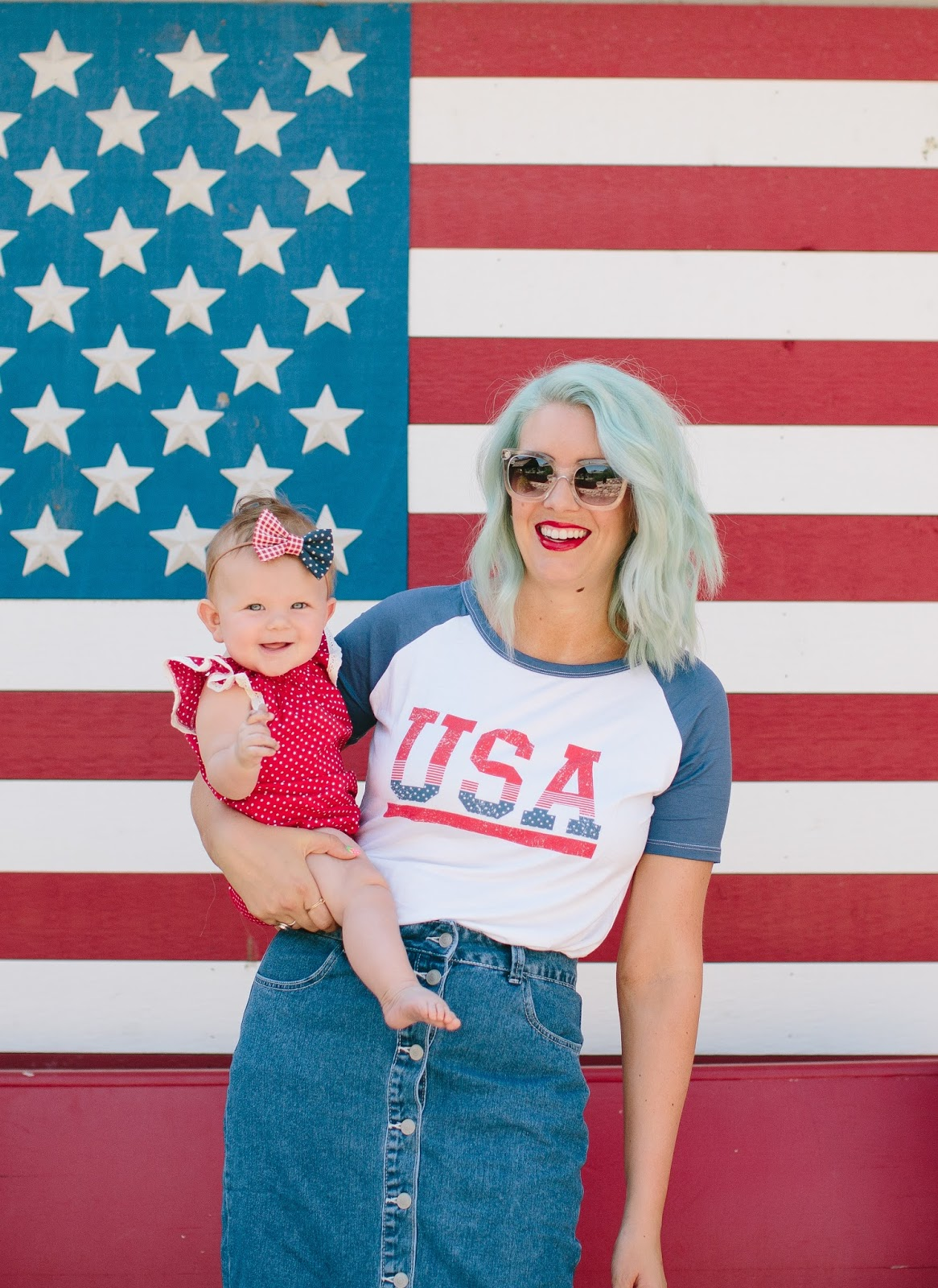 Patriotic Outfit, Red White and Blue, 4th of July Outfit