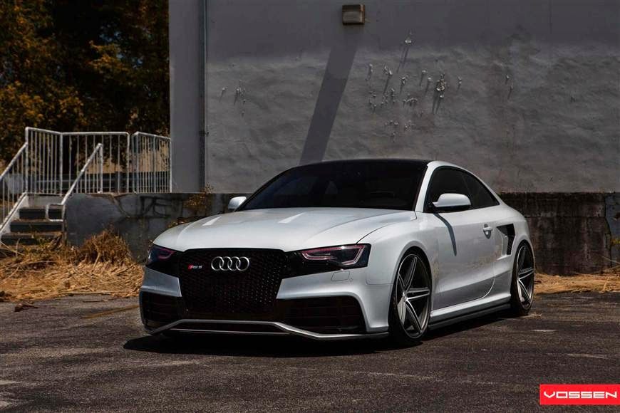 audi rs5 by vossen vvscv5 on matte graphite machined supercars show. Black Bedroom Furniture Sets. Home Design Ideas