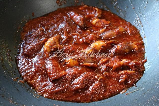 Sambal Tumis Sotong Azie Kitchen