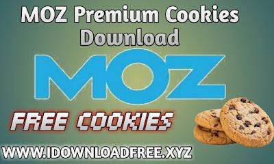 MOZ Premium Cookies
