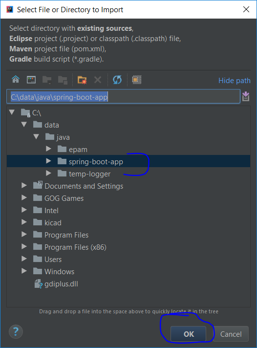 How to create a Spring Boot web application using Intellij