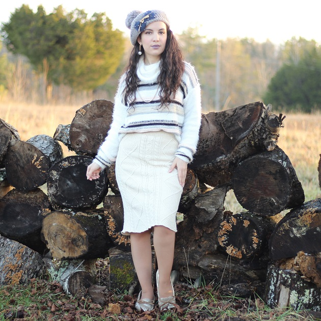 Shein Sweater Skirt