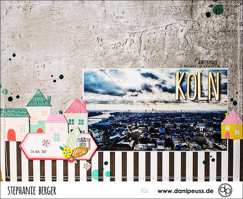 Stephanie Berger - Scrapbooking - Danie Peuss - Januar - Köln