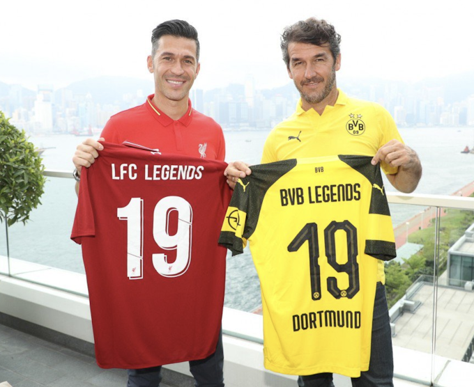 Liverpool and Borussia Dortmund Legends to play in Hong Kong