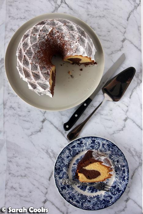 Marmorkuchen - Marble Cake