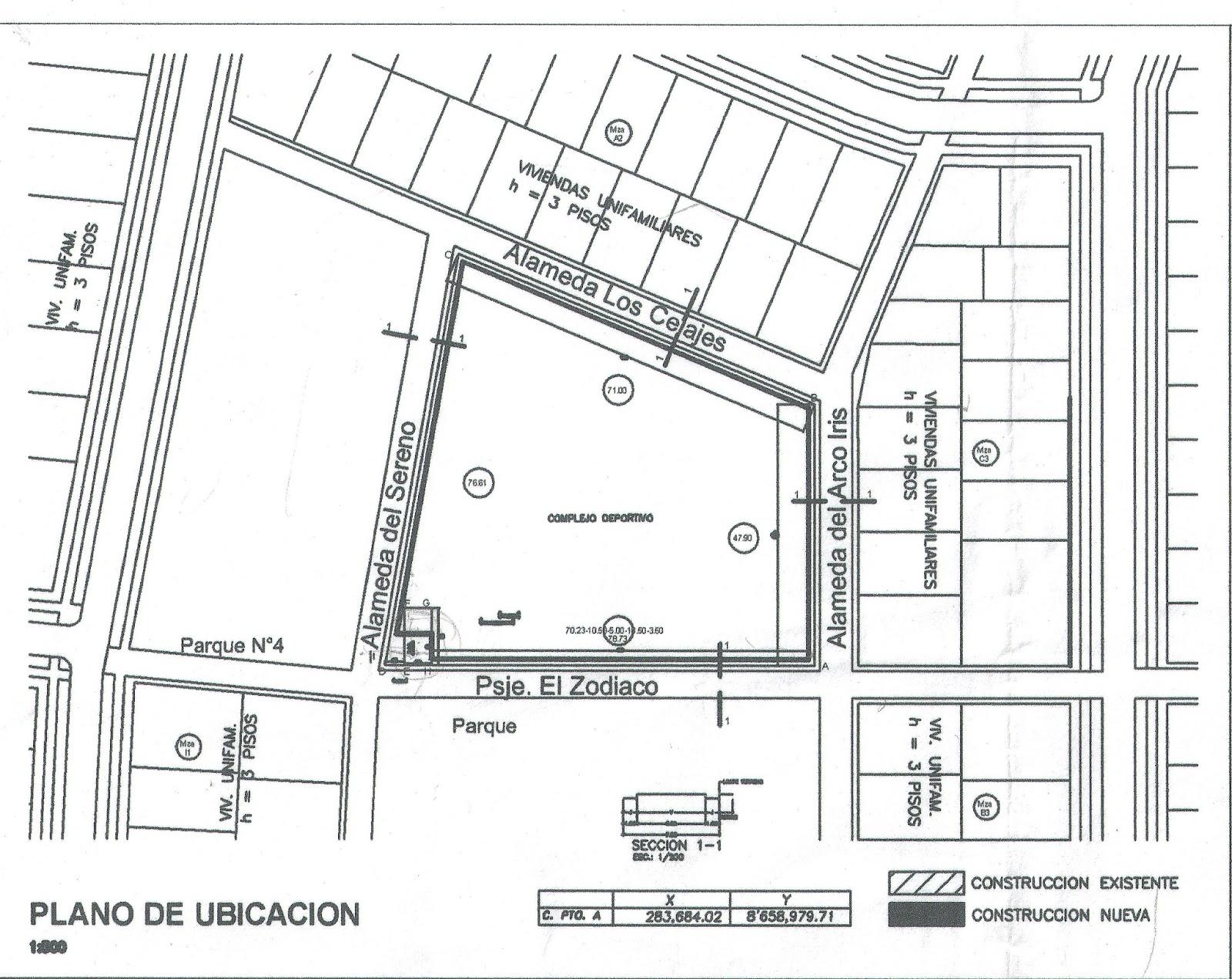 Localización De Una Casa En El Mapa: Cooperativa De Vivienda Alborada Ltda