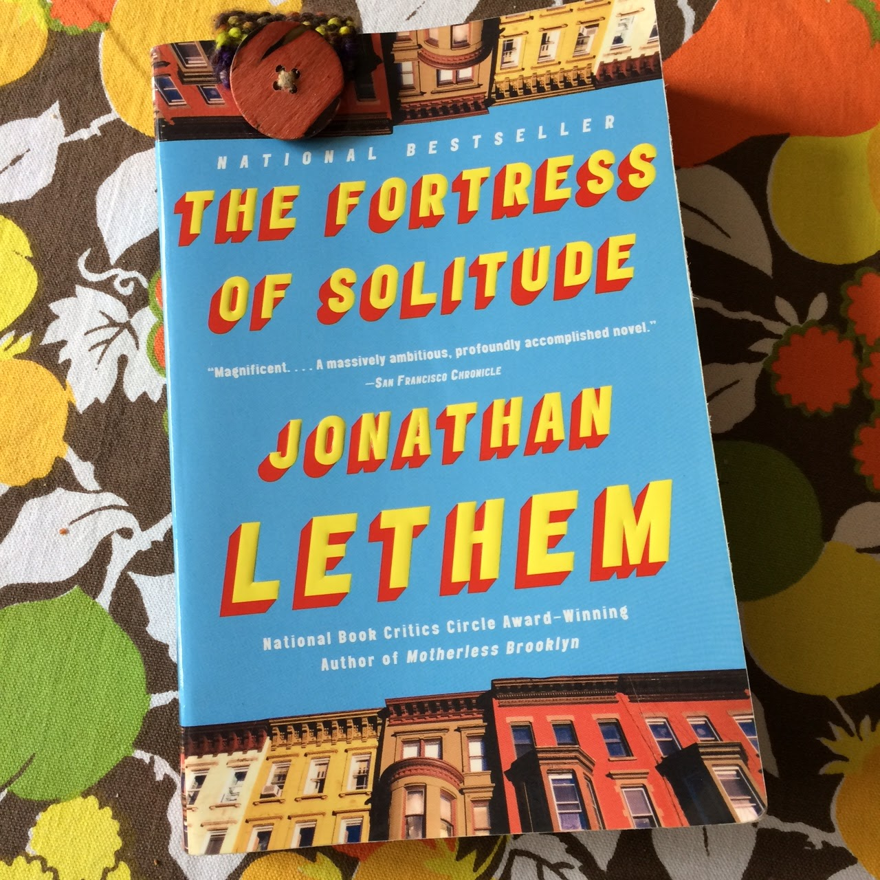 Now? I Love It And By Love It I Mean I Love It! The Fortress Of Solitude  By Jonathan Letham Is The The Adventures Of Kavalier & Clay With Magic  Realism,