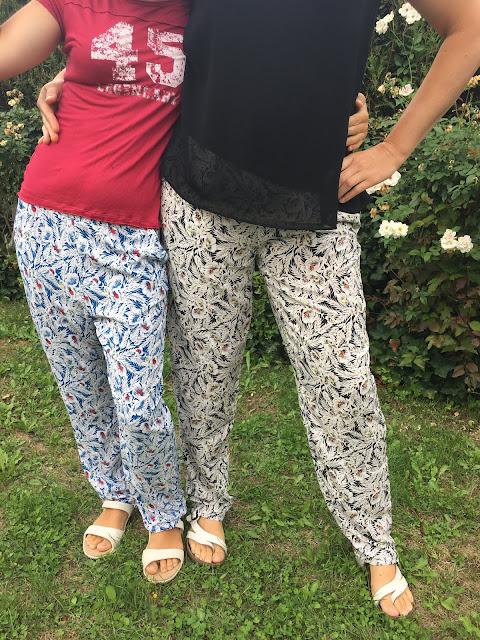 pantalon sunny lmv la maison victor marche à suivre aime comme marie