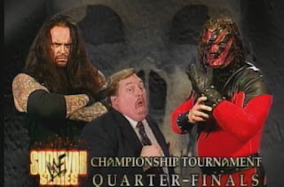 WWE / WWF Survivor Series 1998 Deadly Game - The Undertaker vs. Kane