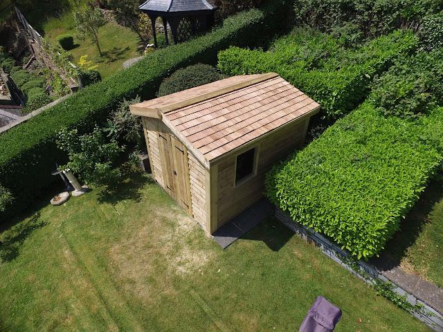 Garden building wales