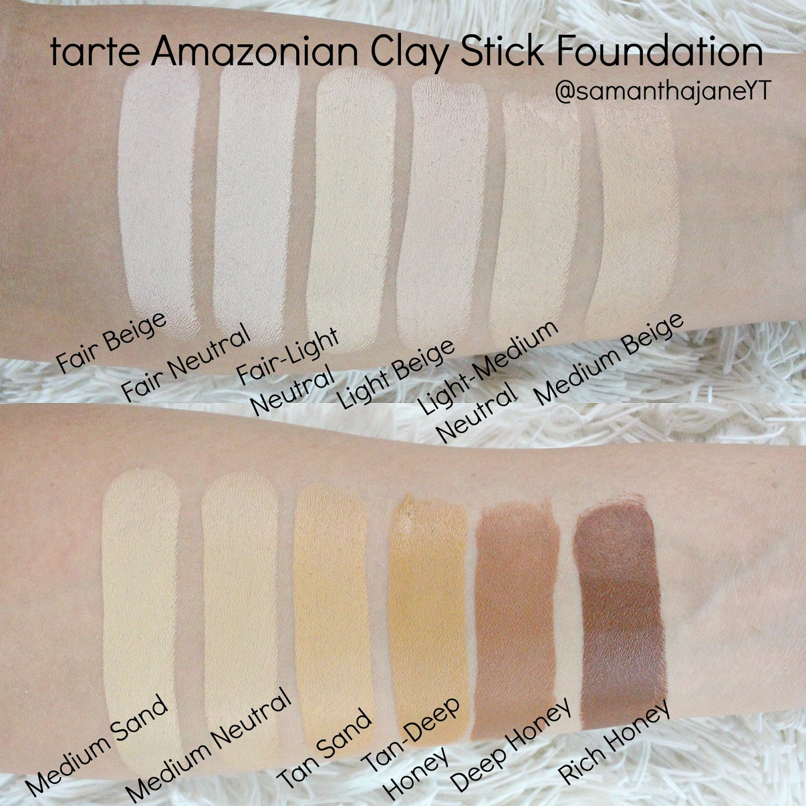 tarte amazonian clay stick foundation tarte clay stick. Black Bedroom Furniture Sets. Home Design Ideas