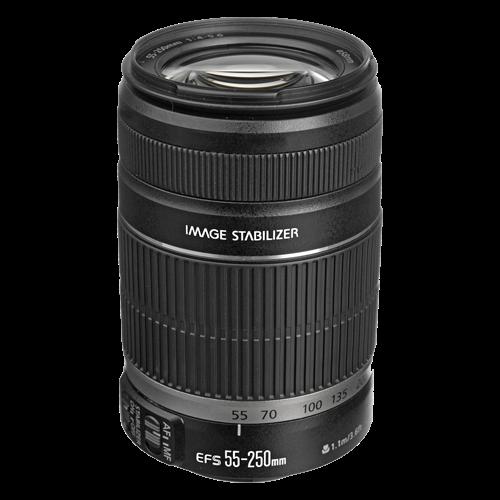 Lensa Canon Tele 55-250mm