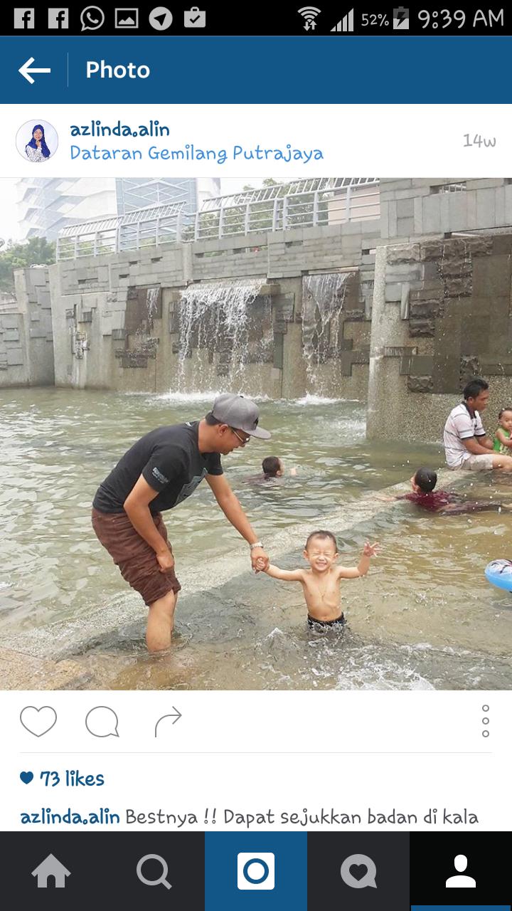 Putrajaya tempat mandi di Pilihan yang