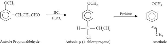 Anethole (Synonym Anise camphor, Monasirup)