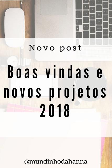 Novos projetos