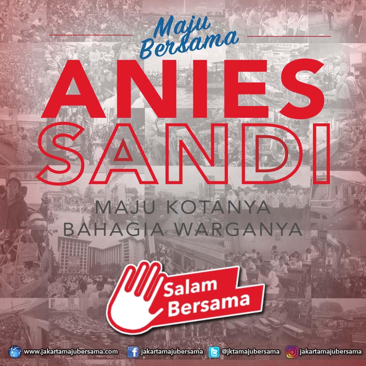 Anies Sandi Luncurkan Logo Resmi Untuk Pilgub DKI Ini Maknanya