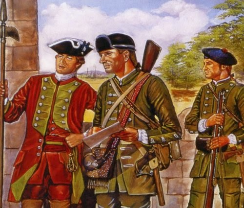 Painting FIW Robert Rogers' Rangers picture 1