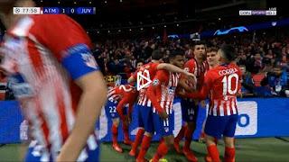 اهداف مباراة اتلتيكو مدريد - جوفنتوس 2-0 دوري ابطال اوروبا 20-02-2019