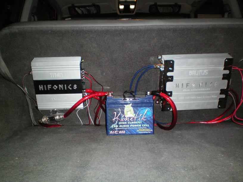 Hook Up Car Amp In Home