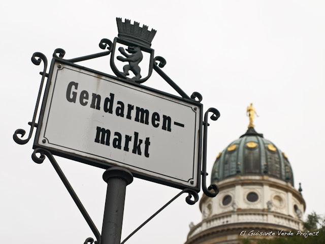 Gendarmenmarkt Berlin por El Guisante Verde Project