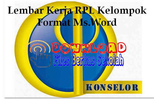Downoad Lembar Kerja RPL Kelompok Format Ms.Word