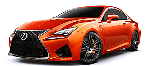 2017 Lexus RC F Sport Price and Release Date