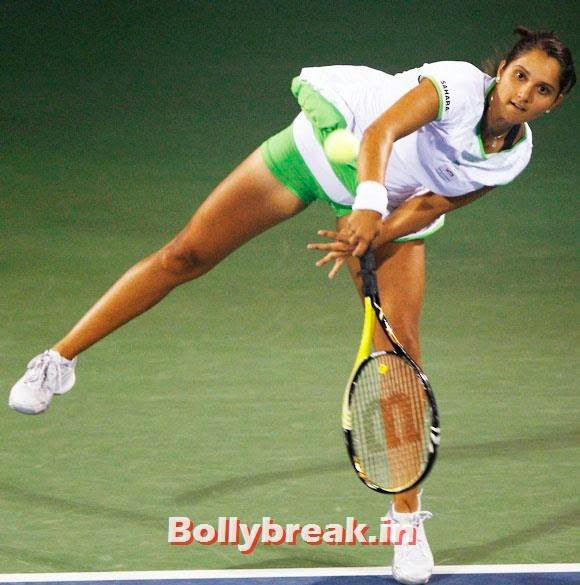 Sania Mirza, Check out India's 10 Hottest sports women