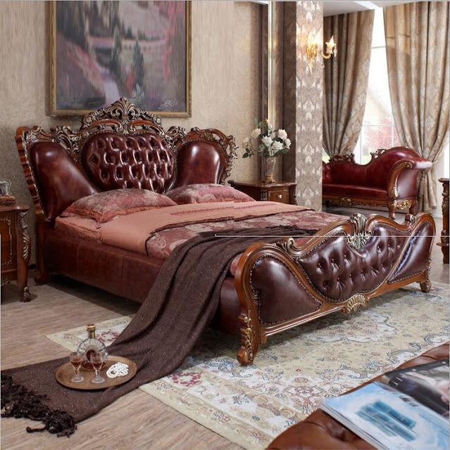 Giường gỗ cao cấp - Mẫu số 2