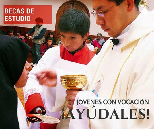 Ayuda Vocaciones Nativas con un donativo
