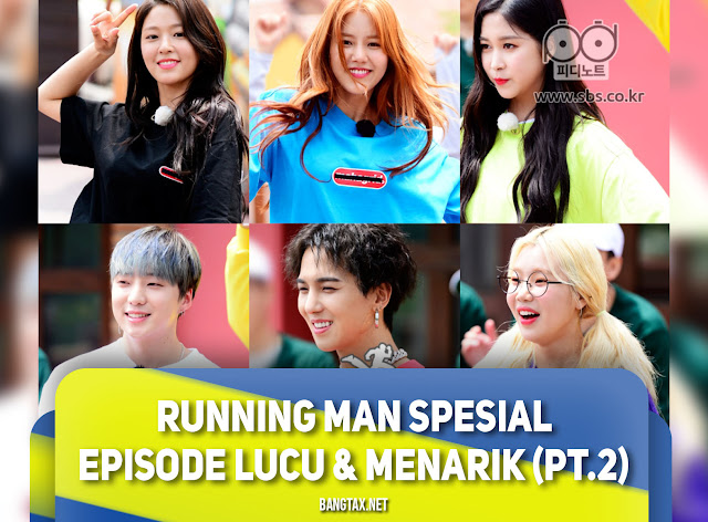 Running Man Spesial Episode Lucu & Menarik Part 2