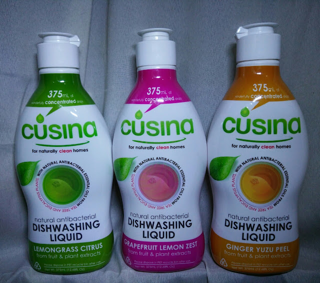 TSM Recommends: Cusina Natural Antibacterial Dishwashing Liquid