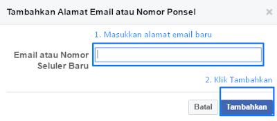 Cara Mudah Merubah Email Di Facebook Terbaru