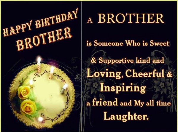 Birthday Wishes For Brother Hd Images