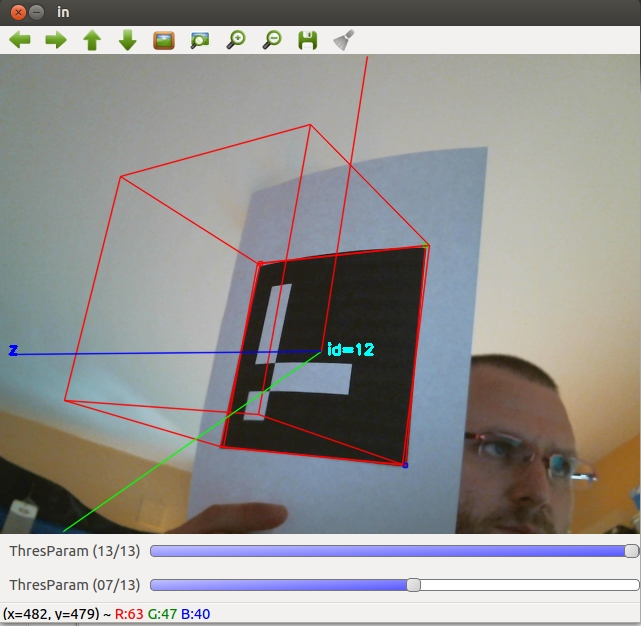 Maztories: Installing ArUco (Augmented Reality library) on