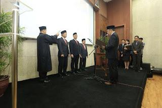 Ridwan Kamil melantik Direksi PD Pasar Bermartabat